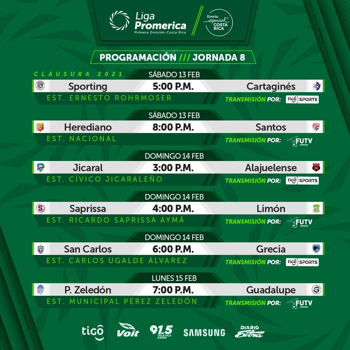Asi se jugara la fecha 8 del Clausura: visita dificil del lider |